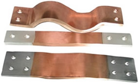 Copper laminated flexible Connectors / Laminated Copper flexible Connectors / Flexible Copper Laminate Connectors