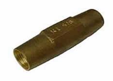 Gunmetal Coupler For Ground Earth Rod